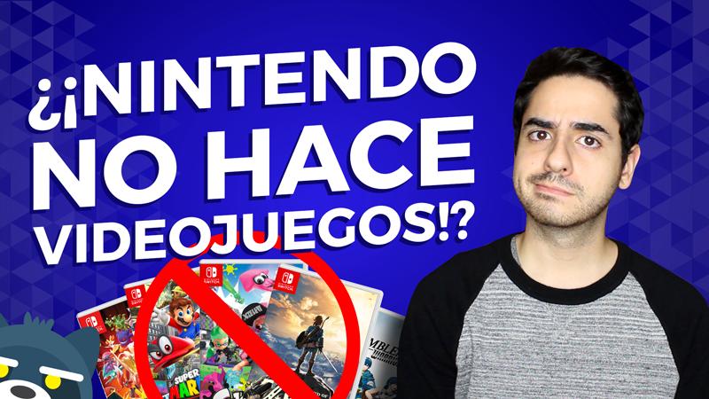 ¿¡Nintendo NO hace videojuegos!?