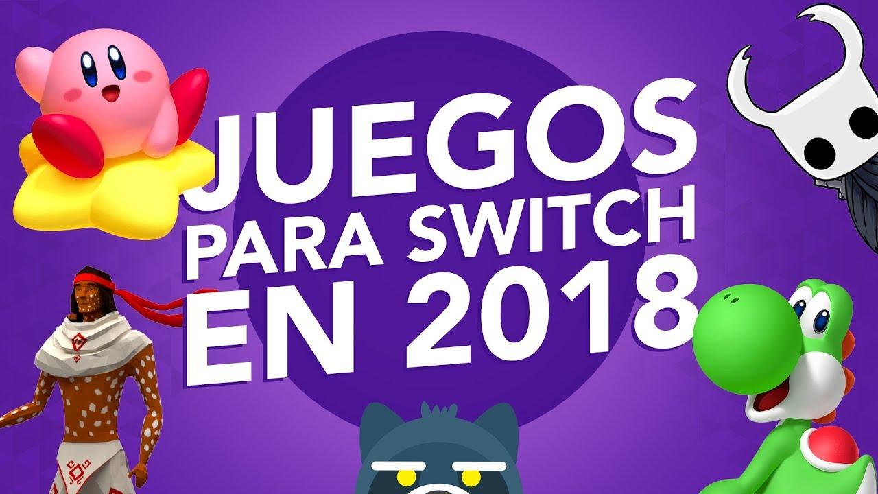 TOP Juegos más esperados para Nintendo Switch 2018