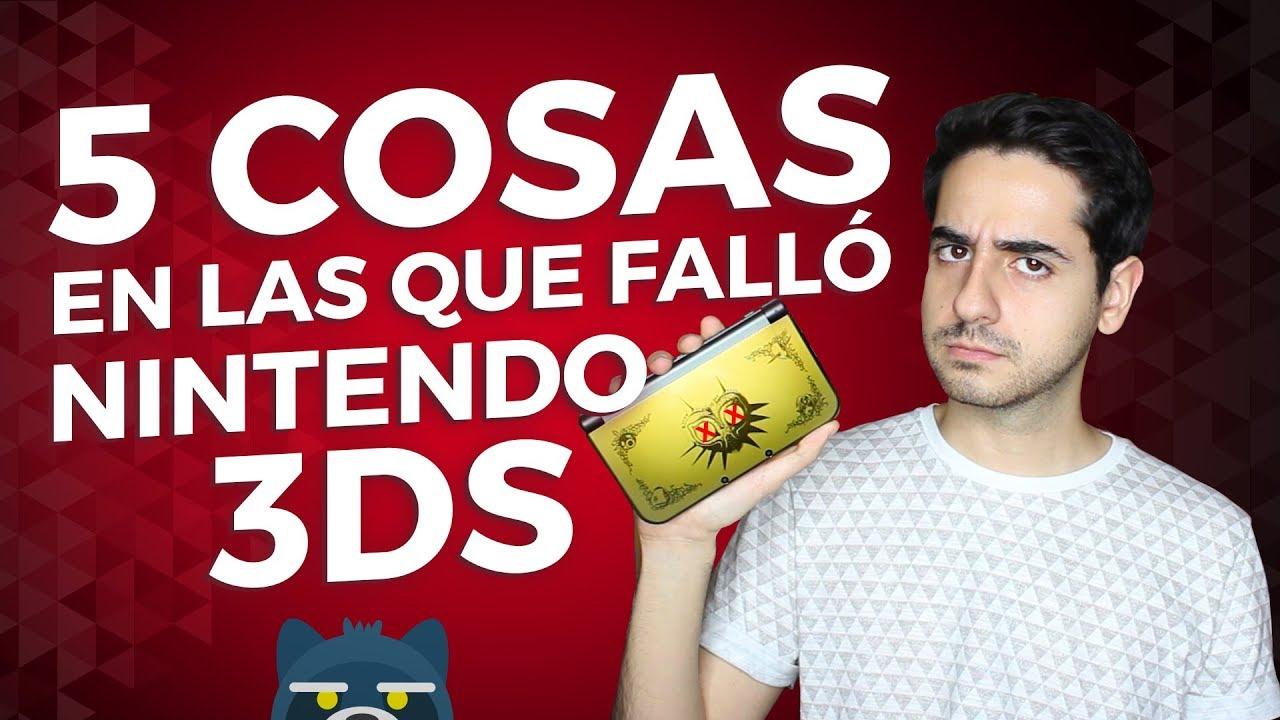 5 COSAS EN LAS QUE FALLÓ NINTENDO 3DS