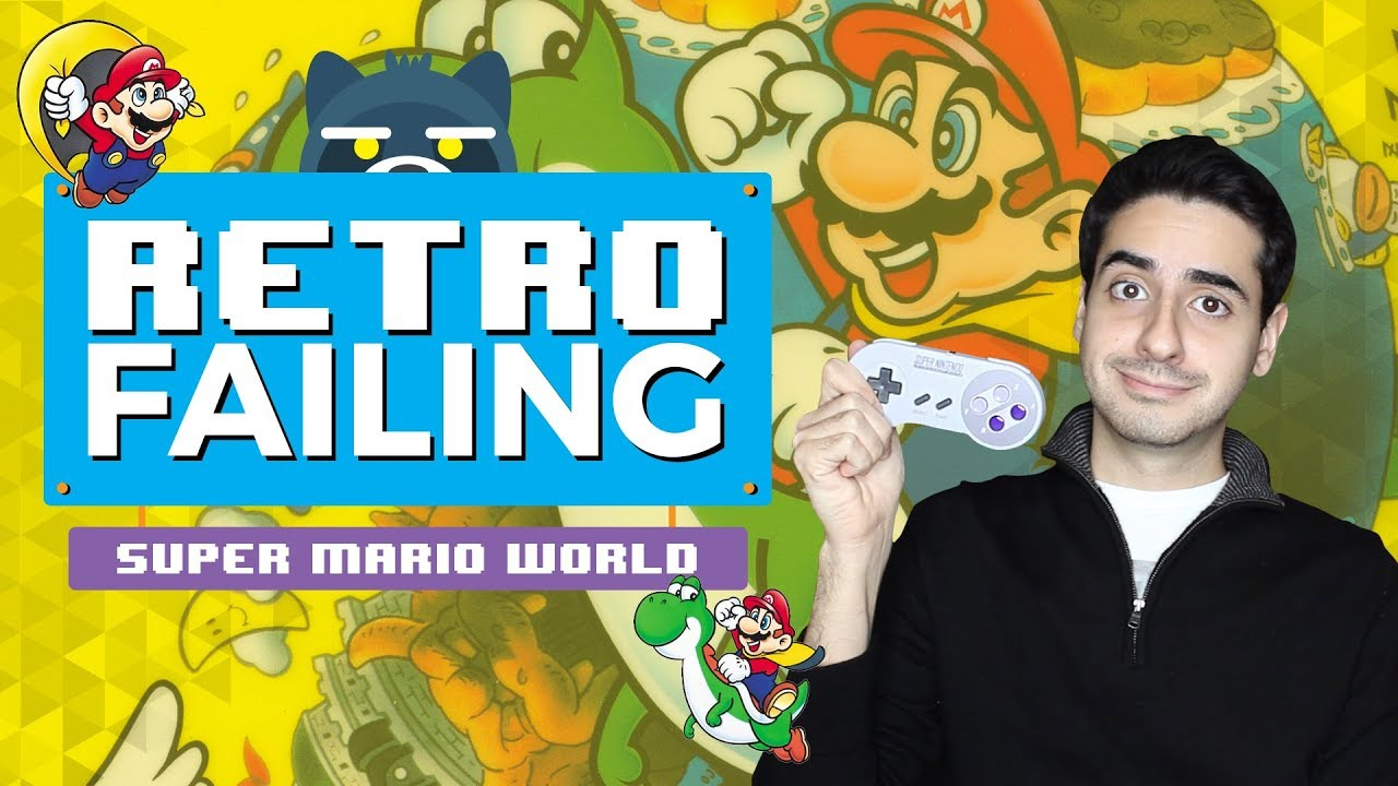 RetroFAILING Super Mario World en SNES Classic Edition