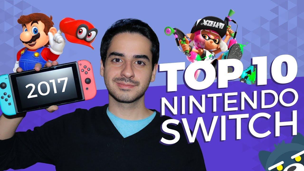 TOP 10 Mejores juegos de Nintendo Switch
