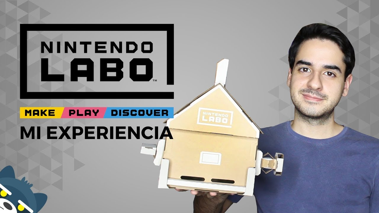 Mi experiencia con Nintendo Labo