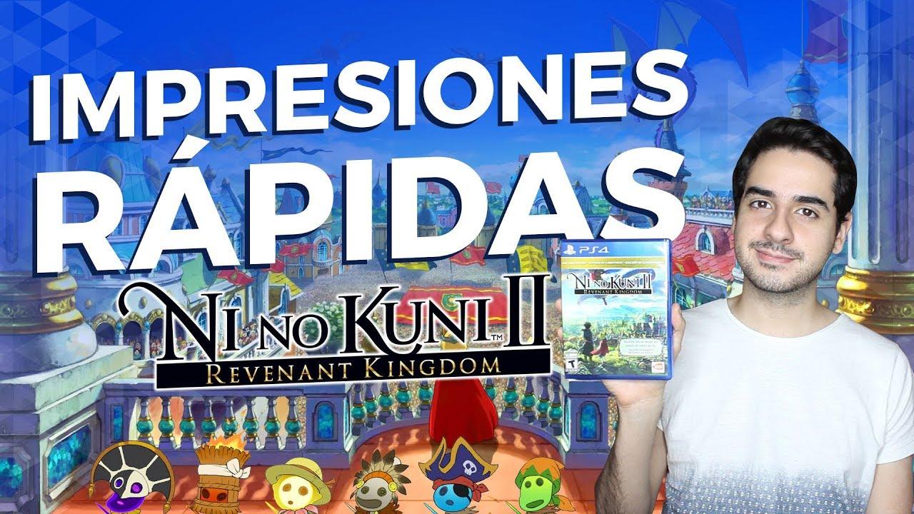 Ni no Kuni II Revenant Kingdom: Impresiones Rápidas