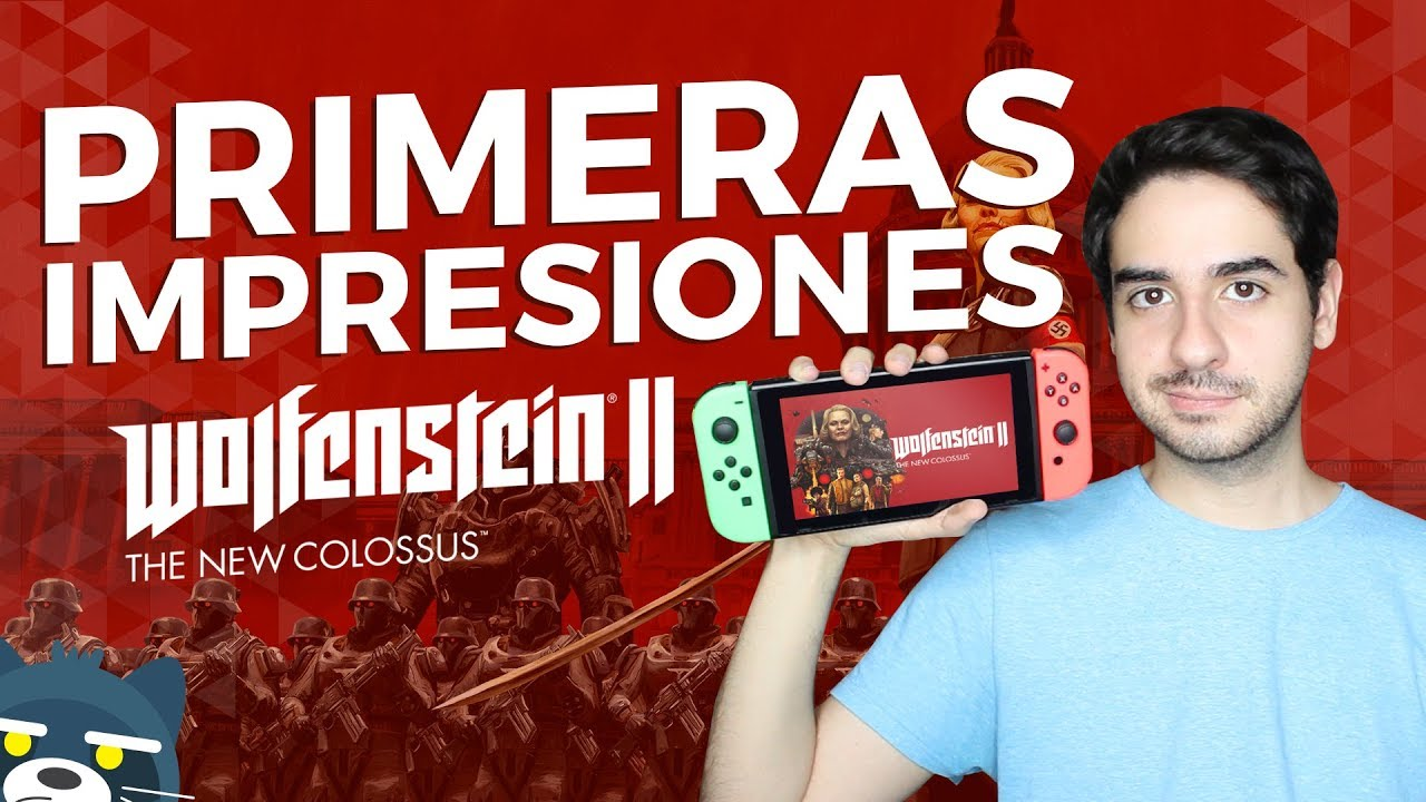 Wolfenstein II The New Colossus para Nintendo Switch: Impresiones Rápidas