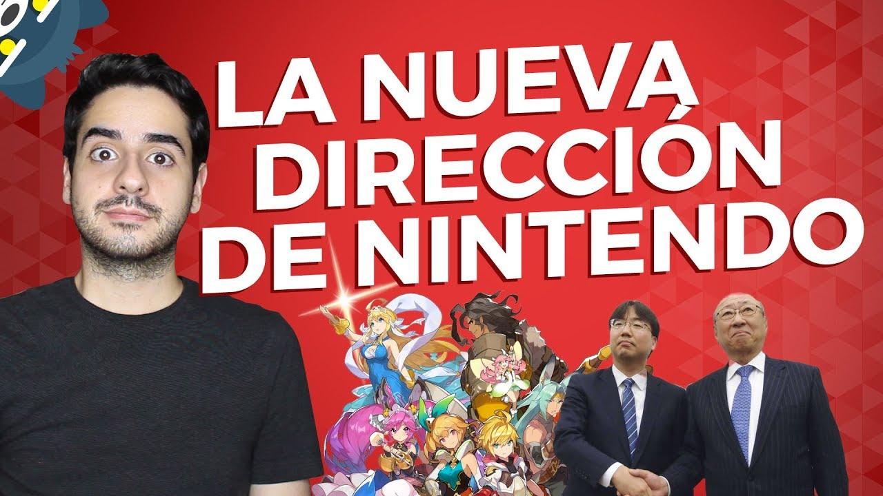 La nueva dirección de Nintendo