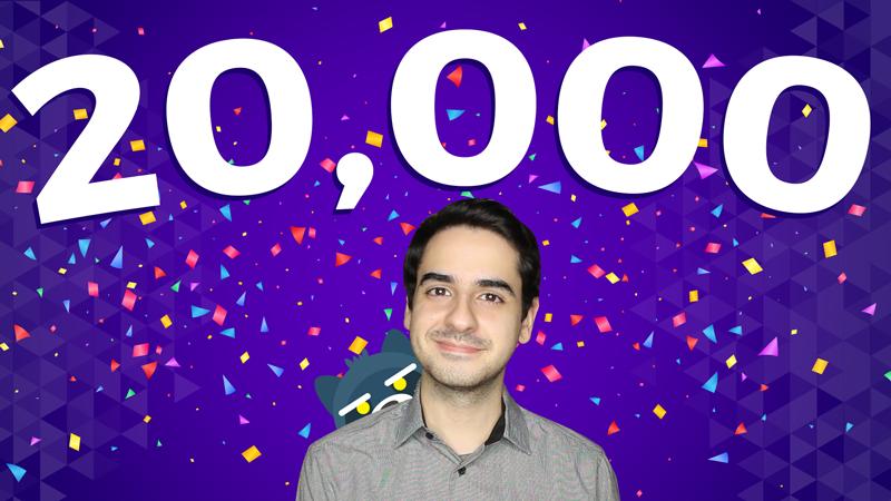 ¡Llegamos a 20,000 suscriptores! + SORTEO