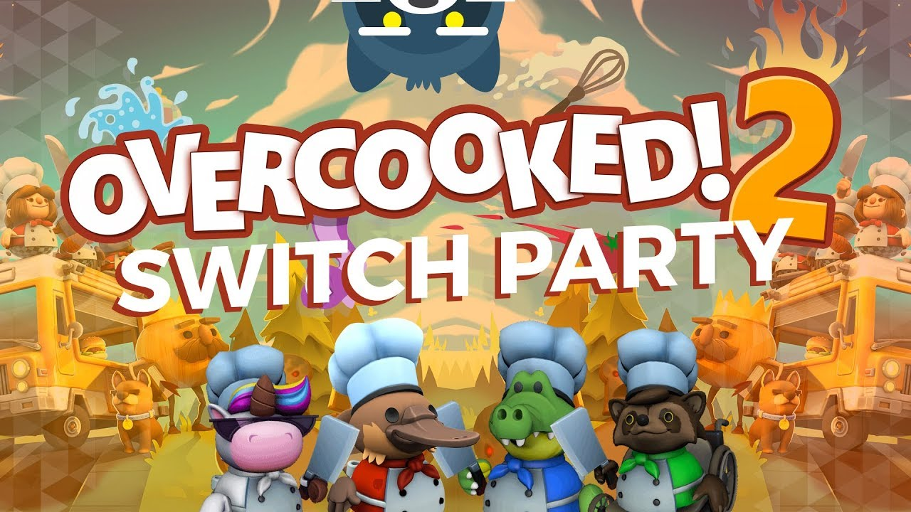 Jugando Overcooked 2 en multijugador local