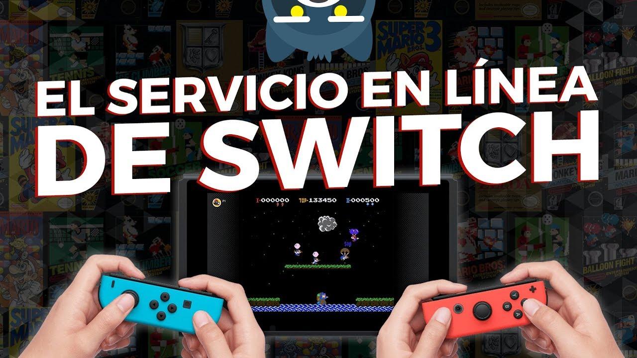 El servicio de paga en línea de Nintendo Switch