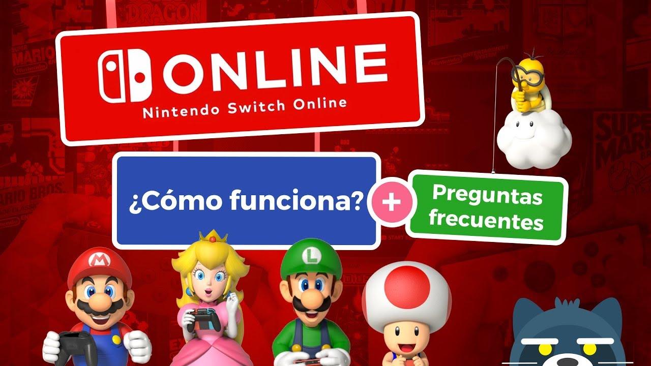 Nintendo Switch Online: Cómo funciona y preguntas frecuentes