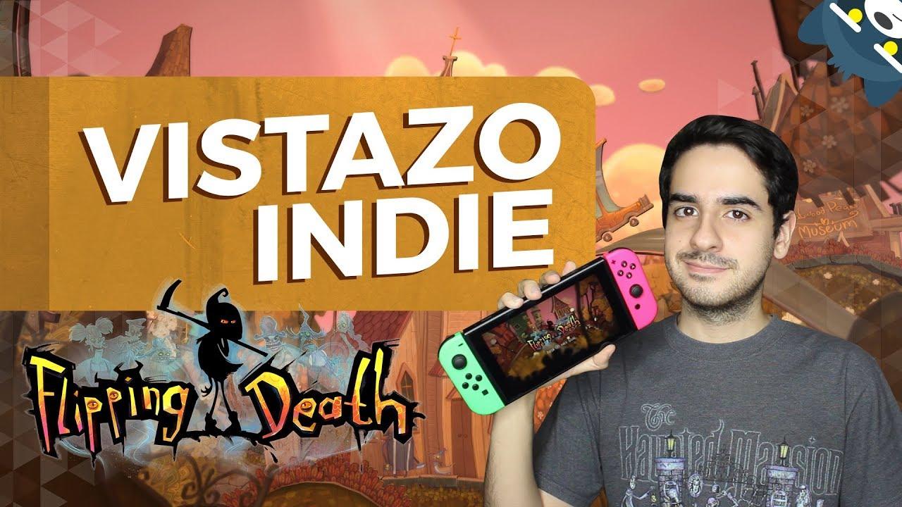 Flipping Death en Nintendo Switch: Vistazo Indie