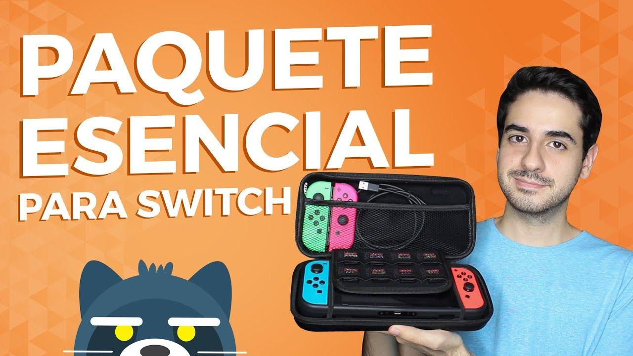 RESEÑA Paquete Esencial de accesorios para Nintendo Switch de Orzly