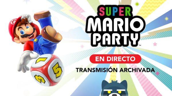 ¡Vamos a jugar Super Mario Party en Nintendo Switch!