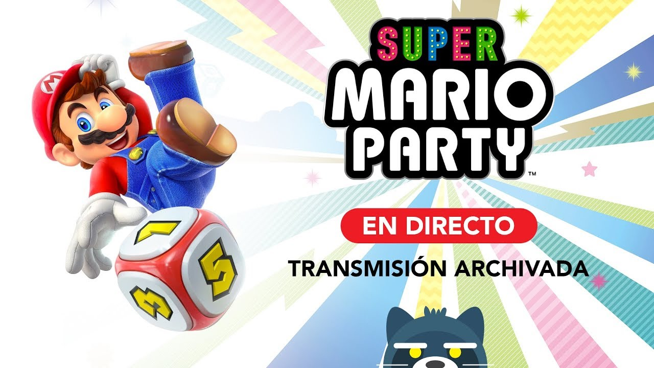 ¡Vamos a jugar Super Mario Party en Nintendo Switch!