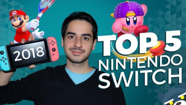 TOP 5 juegos de Nintendo Switch de 2018