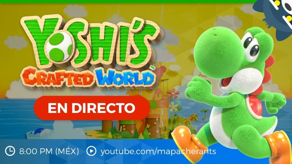 Yoshi's Crafted World gameplay en español