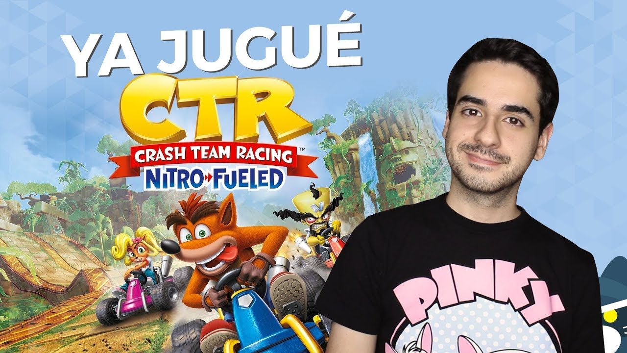 ¡Jugué CTR Crash Team Racing Nitro Fueled! (Opinión y gameplay)