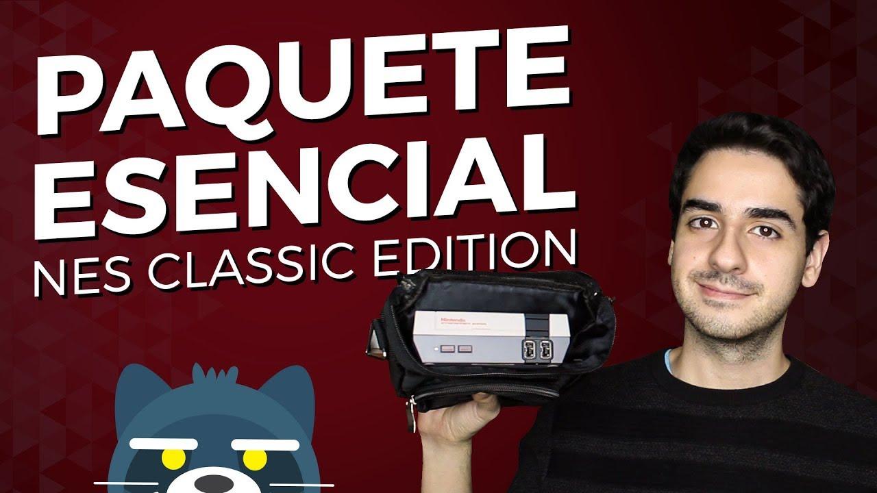 UNBOXING Paquete esencial de accesorios para NES Classic Edition de Orzly