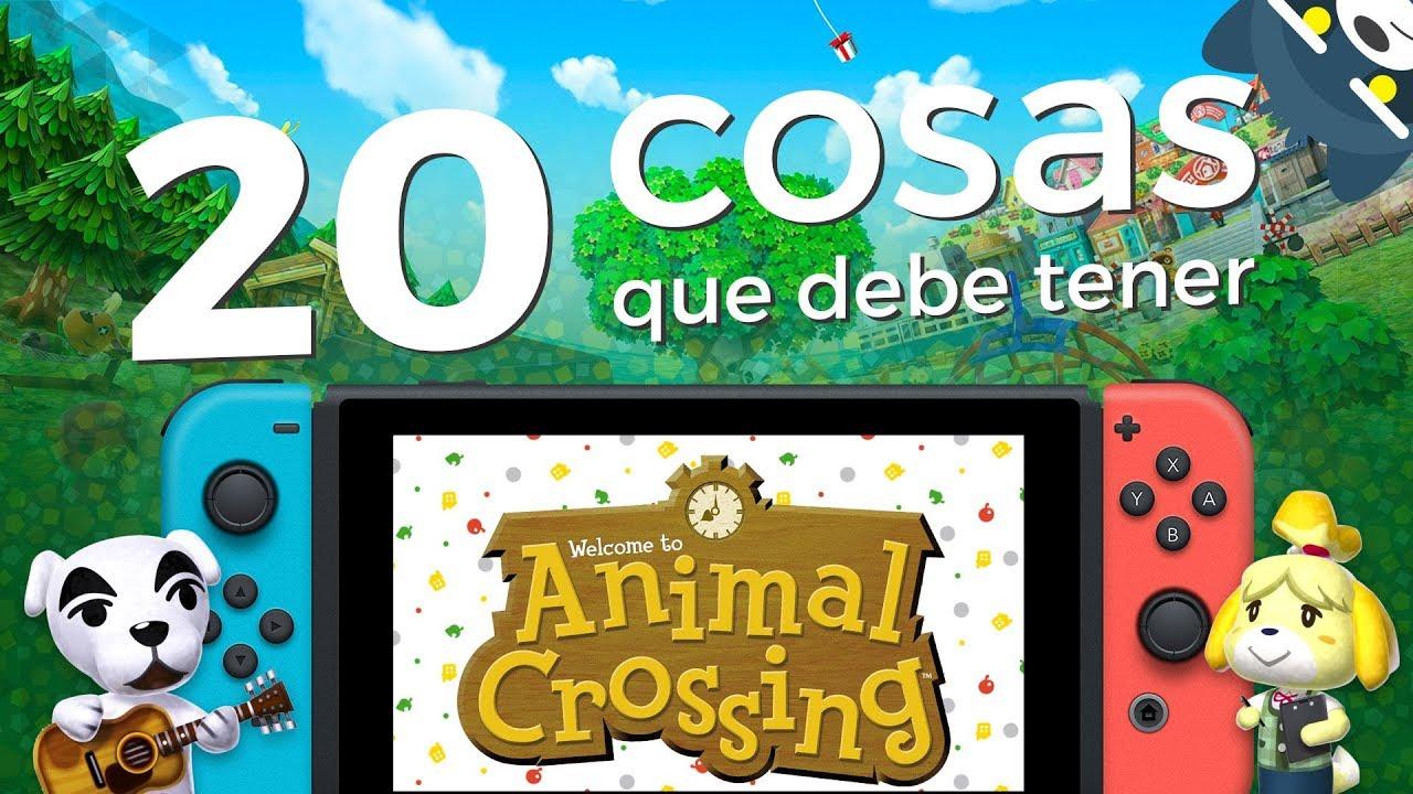 20 cosas que debe tener Animal Crossing en Nintendo Switch