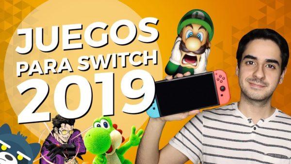 TOP 10 Juegos esperados para Nintendo Switch en 2019