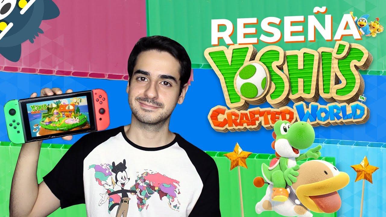 RESEÑA Yoshi's Crafted World para Nintendo Switch