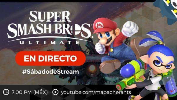 #SábadodeStream Retas de Super Smash Bros. Ultimate CON SUBS