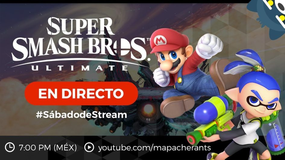 #SábadodeStream Retas de Super Smash Bros. Ultimate CON SUBS