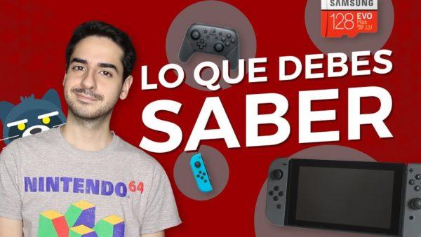 Lo que debes saber de Nintendo Switch (si acabas de comprarlo)