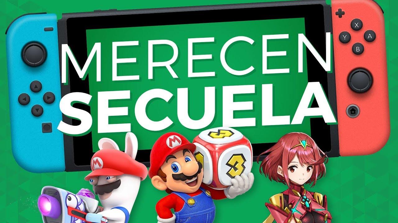 TOP 10 Juegos de Nintendo Switch que merecen secuelas