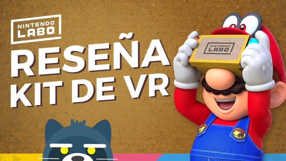 RESEÑA Nintendo Labo Kit de VR en Switch (+ Zelda y Mario)