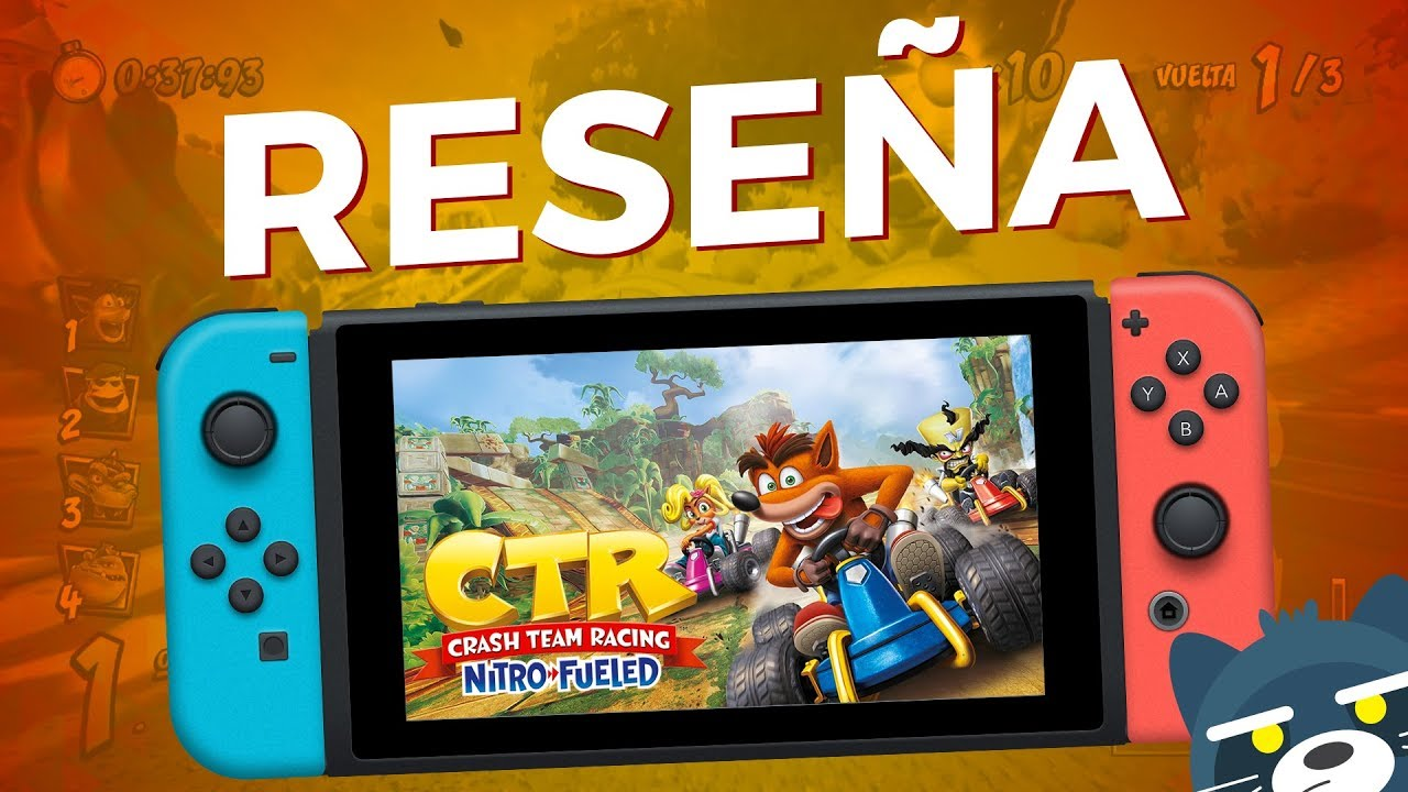 RESEÑA Crash Team Racing Nitro-Fueled en Nintendo Switch