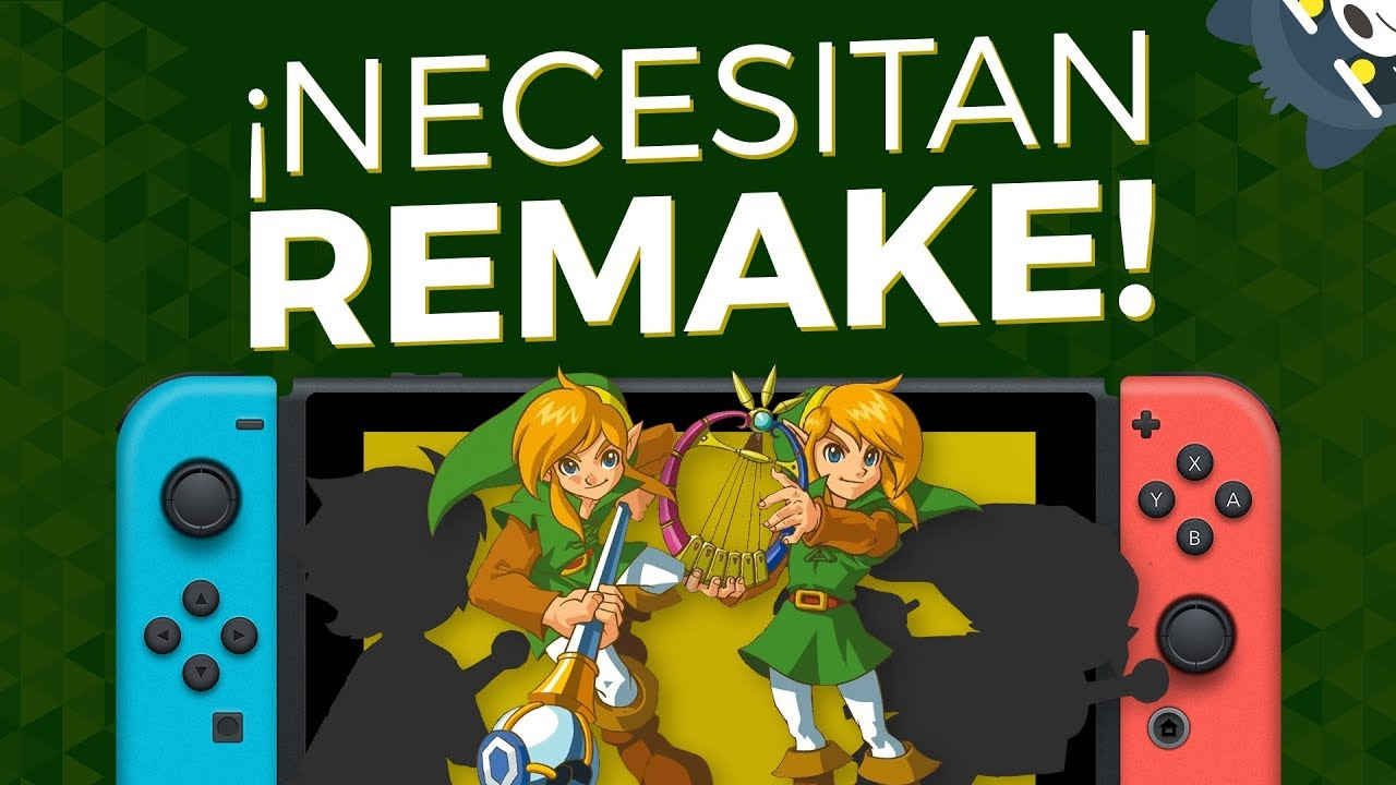 TOP 5 Juegos de Zelda que necesitan remake en Nintendo Switch