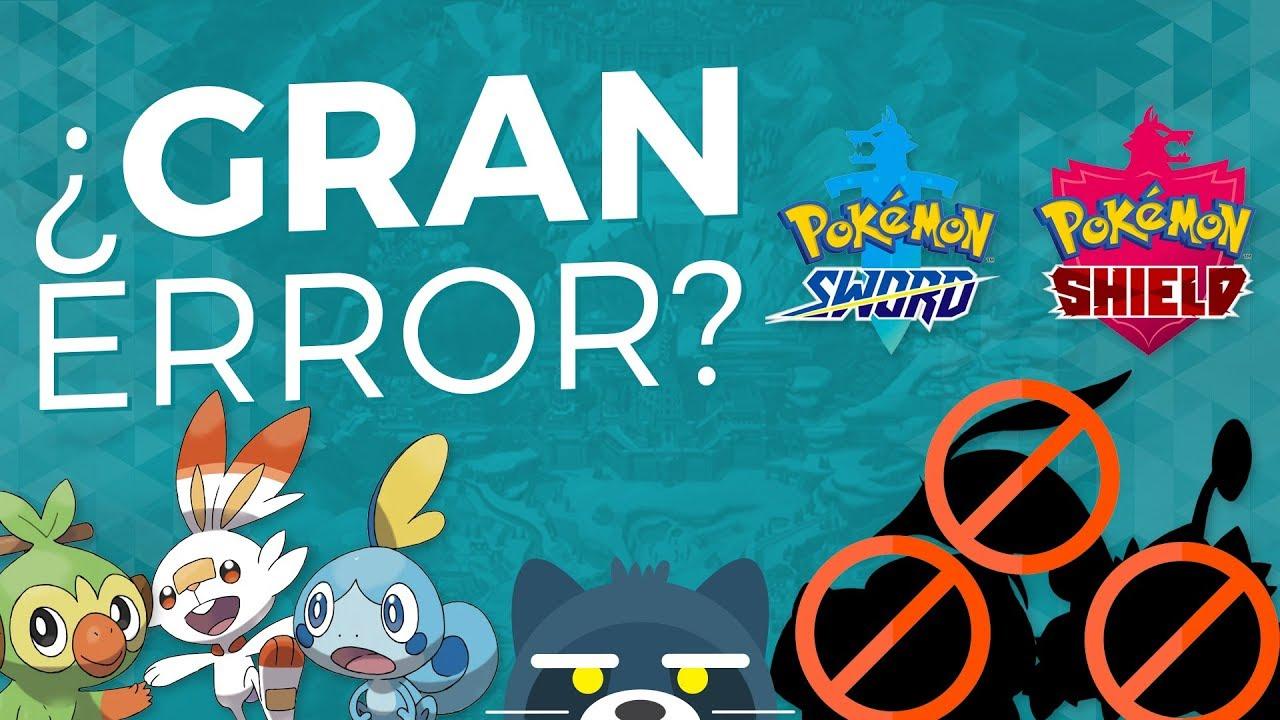 ¿El GRAN error de Pokémon Sword y Shield? (Pokédex incompleto)