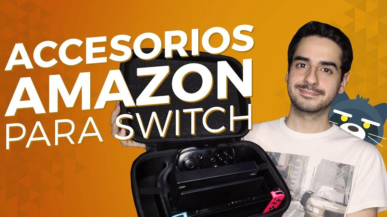 RESEÑA Accesorios para Nintendo Switch de AmazonBasics