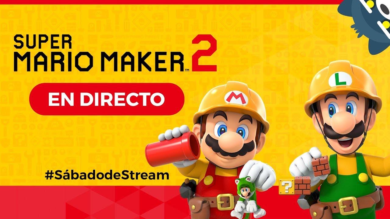 ¡Jugando sus niveles de Super Mario Maker 2 en Nintendo Switch!