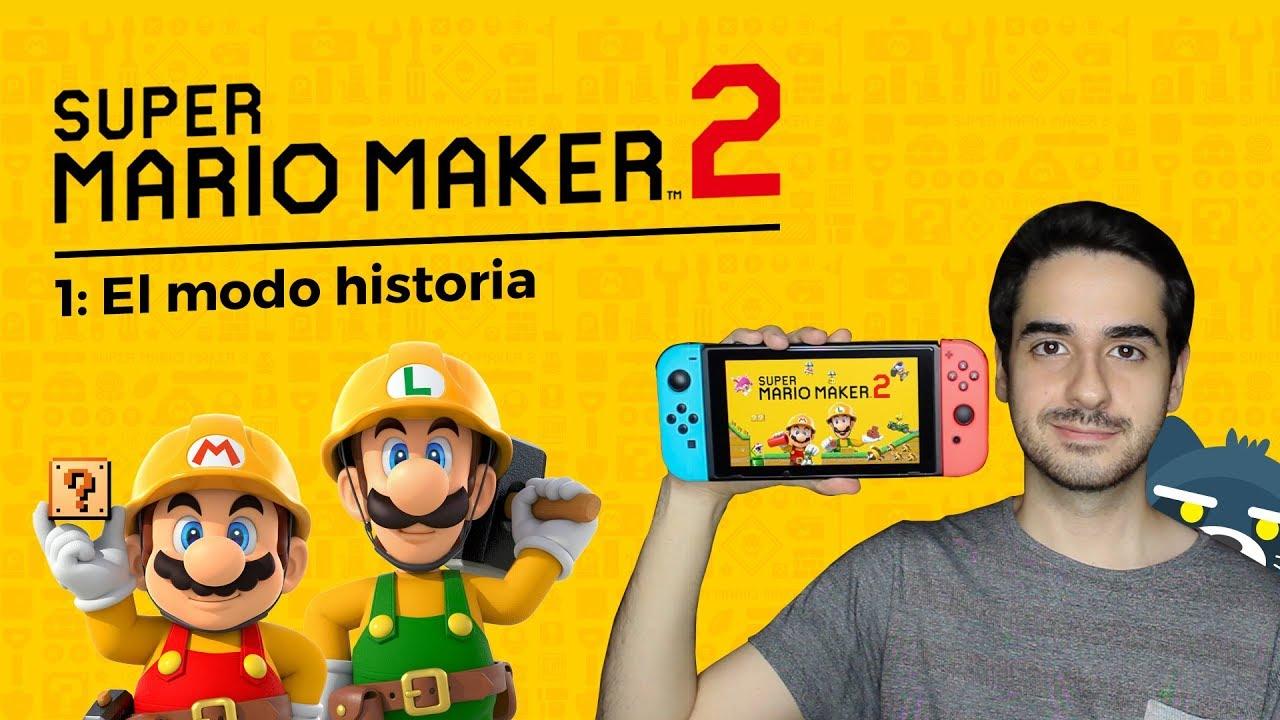 Super Mario Maker 2: El modo historia