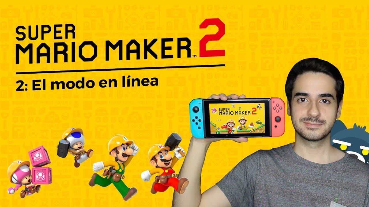 Super Mario Maker 2: El modo en linea