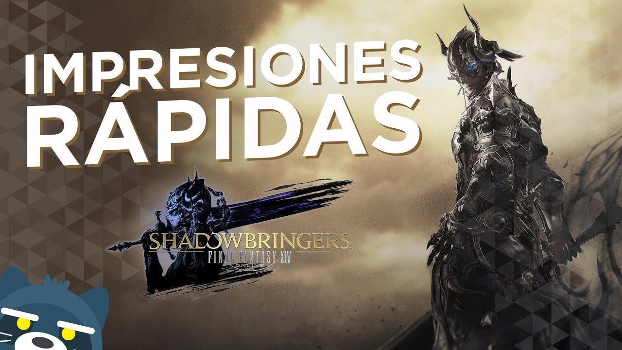 Final Fantasy XIV Shadowbringers: Impresiones Rápidas