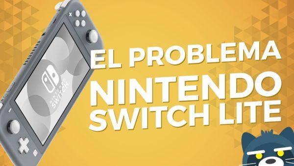 El problema de Nintendo Switch Lite