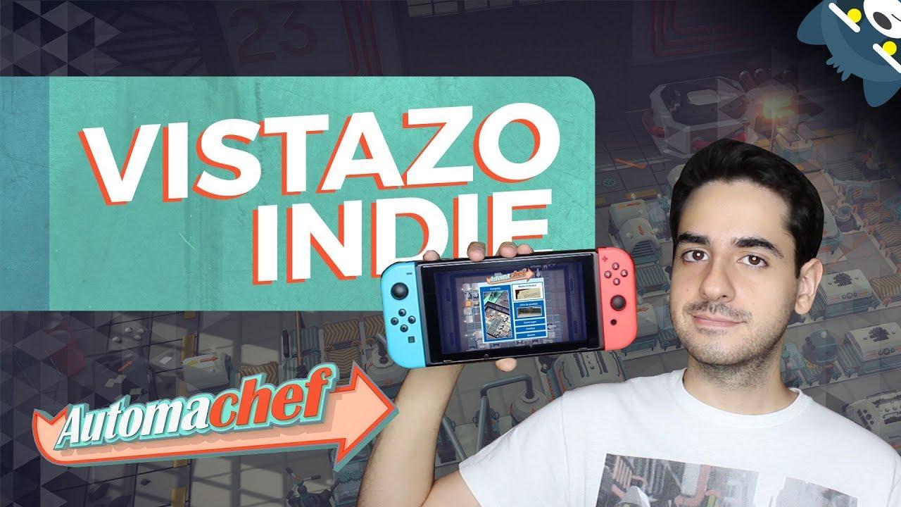 Automachef en Nintendo Switch (Vistazo Indie)