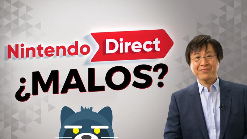 ¿Los Nintendo Directs son malos?