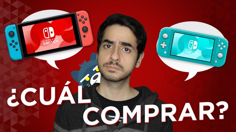 ¿Nintendo Switch o Nintendo Switch Lite? ¿Cuál debes comprar?