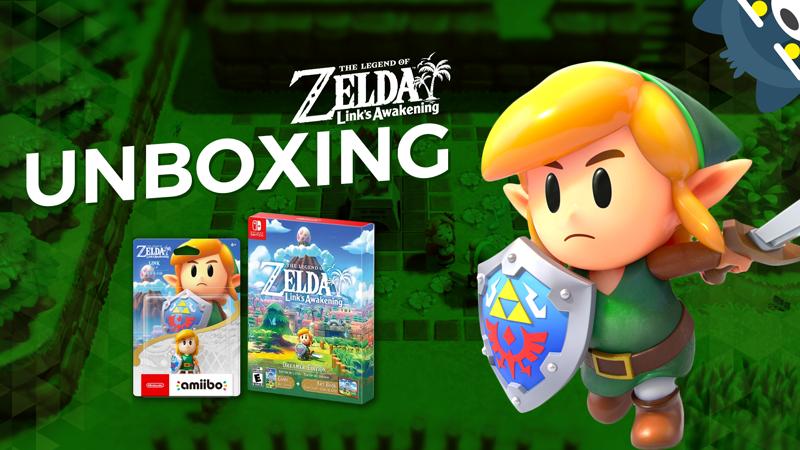 Unboxing amiibo y Dreamer Edition de Link's Awakening para Nintendo Switch