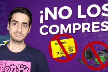 Accesorios para Nintendo Switch que NO debes comprar