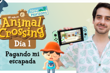 Mi vida en Animal Crossing New Horizons: Día 1