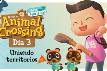 Mi vida en Animal Crossing New Horizons: Día 3