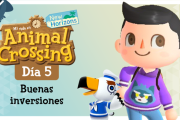 Mi vida en Animal Crossing New Horizons: Día 5