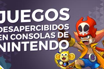 TOP 5 Juegos exclusivos de consolas de Nintendo que pasaron desapercibidos