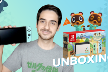 UNBOXING Nintendo Switch edición especial Animal Crossing New Horizons