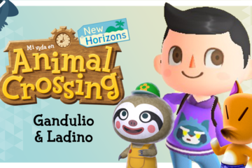 Mi vida en Animal Crossing New Horizons: Gandulio y Ladino