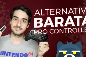 Alternativa BARATA al Nintendo Switch Pro Controller